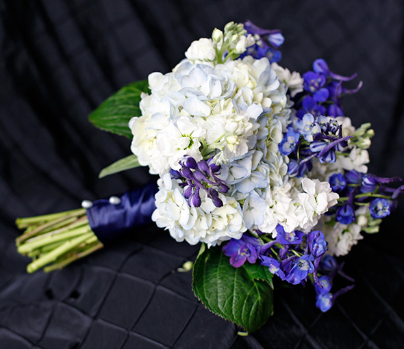 Blue Hydrangea Wedding Flowers: Blue Wedding Flowers