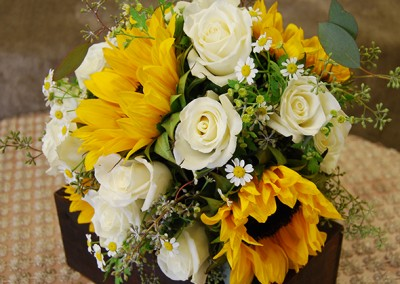 Yellow Bouquet With Sunflowers