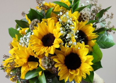 Yellow Bouquet Flowers
