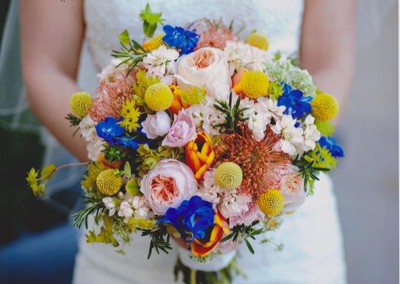 Peach Wedding Bouquet 20