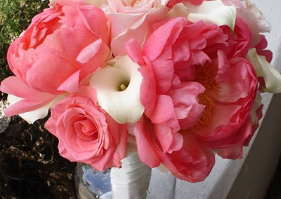 Peach Wedding Bouquet 17