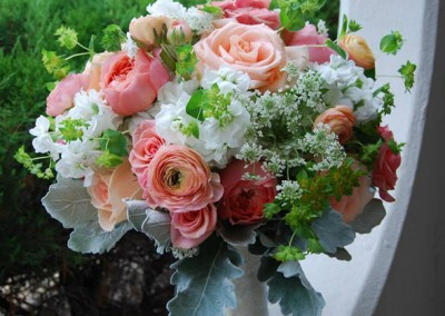 Peach Wedding Bouquet 16