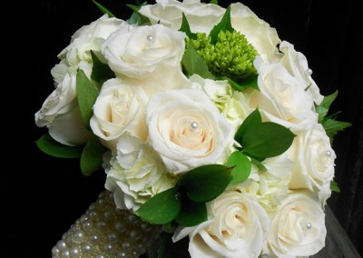 White and Ivory Wedding Bouquets 11