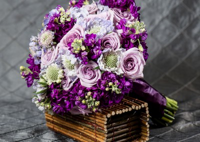 Purple Wedding Bouquets 4
