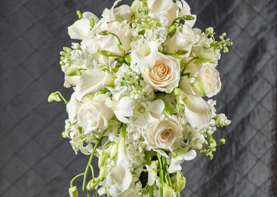 White and Ivory Wedding Bouquets 8