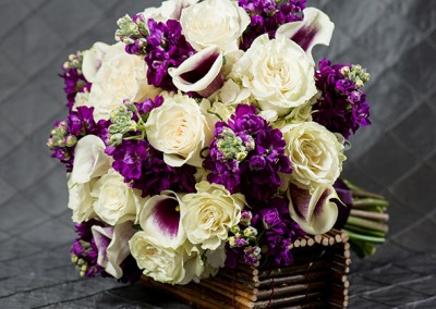 Purple Wedding Bouquets 3
