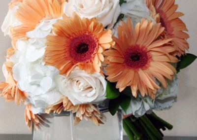 Peach Wedding Bouquet 5