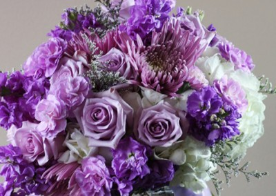 Purple Wedding Bouquets 2