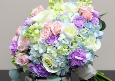 Purple Wedding Bouquets 1