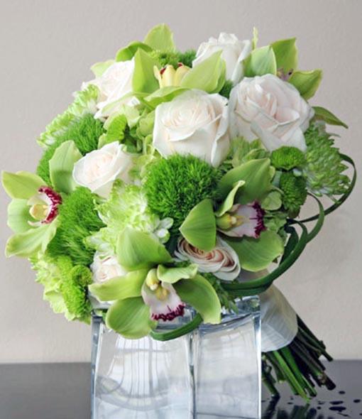 Green Wedding Bouquets
