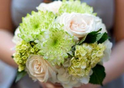 Green Hydrangea Wedding Bouquet