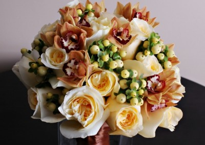 Peach Wedding Bouquet 4